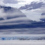 Glacier and Clouds, Alsek Lake, Alaska