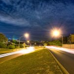 san antonio, texas, lights, road, grass