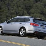 trees, blue, side view, 2010, cars, nature, tsx, style, acura wallpaper