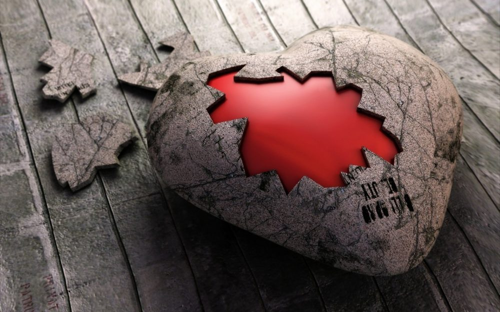Beautiful small fresh broken love wallpaper