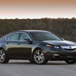 sunset, trees, blue, 2011, acura, cars, side view, tl, style