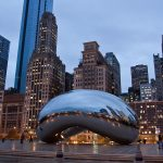 chicago, cloud, gate