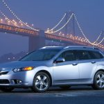 side view, 2010, cars, lights, tsx, acura, bridges, silver metallic, style
