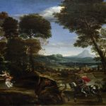 Spear, on horseback, dragon, painting, George, Domenichino, death