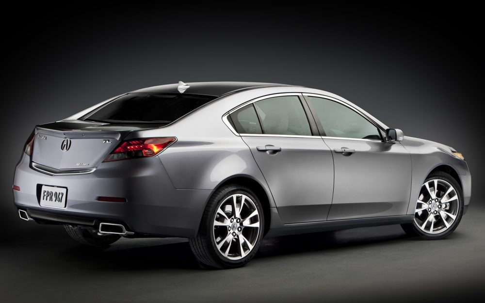 side view, tl, metallic gray, style, sedan, acura