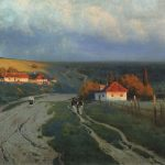 Evening, Kryzhitsky, picture