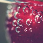 Berry, cherry, water, fruit, food, cherry, bubbles