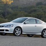 style, rsx, nature, forest, cars, side view, silver metallic, acura