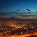 Clouds, armenia, Yerevan, night, yerevan, Armenia