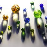 marbles, galaxy, planets