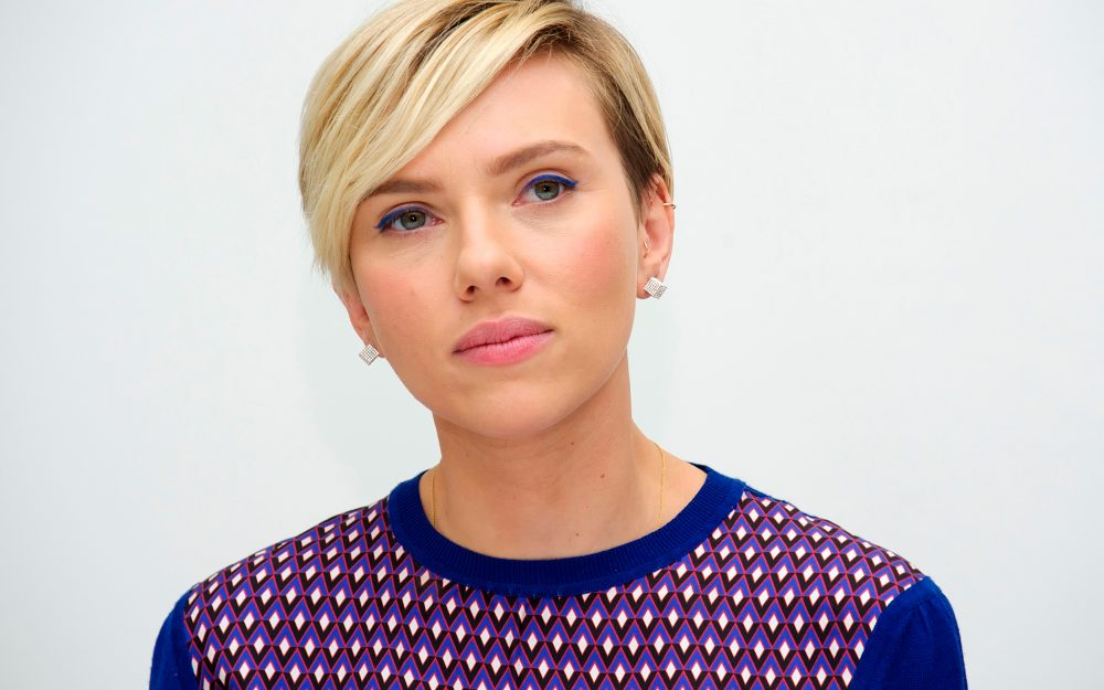 scarlett johansson, press conference