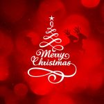 Christmas, New Year, widescreen, red desktop background picture