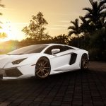 Lamborghini, white sports car, car picture, ultra HD wallpaper