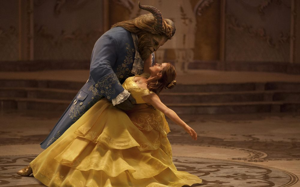 Beauty and the beast Bell and the beast dance desktop wallpaper