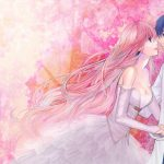 HD anime couple desktop wallpaper