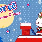 LADYCC roof christmas wallpaper