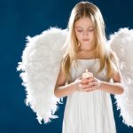 Praying angel girl HD wallpaper download