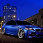 BMW M5, BMW, night, street, HQ, wallpaper