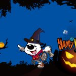 2014 Simba Dog Halloween Wallpaper