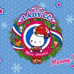 LADYCC, garland ornaments, Christmas wallpaper
