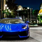 Blue Lamborghini images aventador, desktop wallpaper