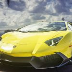 Lamborghini Aventador, yellow, supercar, wallpaper