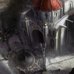 dungeon siege, waterfall, cathedral