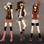 Fashion cartoon character HD wallpaper