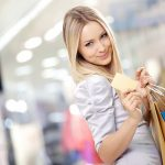 Beauty shopping desktop background picture