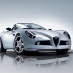 Alfa Romeo 8C Spider wallpaper