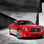 Red dodge charger HD wallpaper