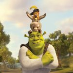 3D animated monster Shrek 4 wallpaper