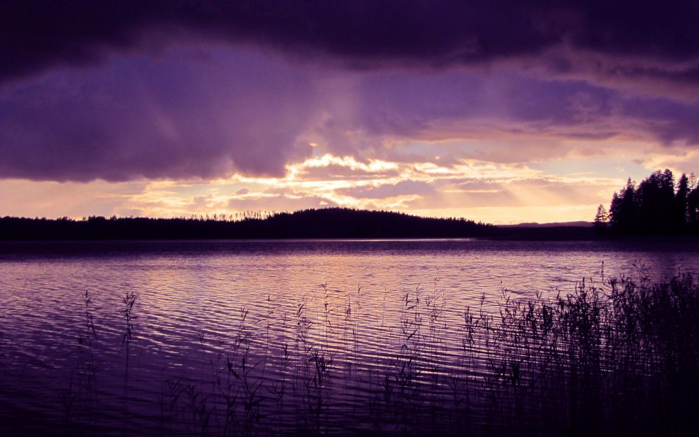 Purple, water, the-calm-after-the-storm