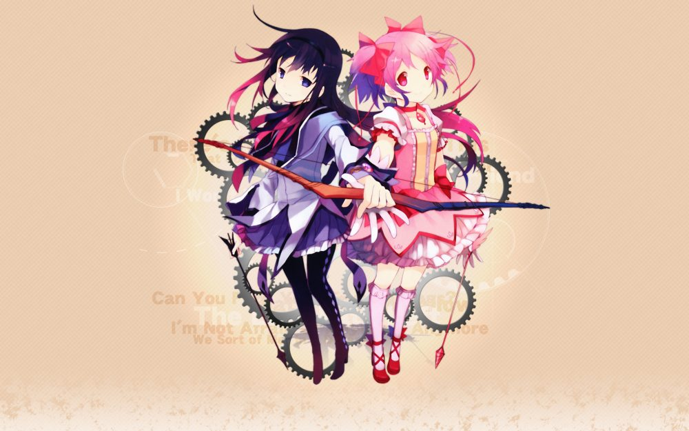 Magical Girl Madoka desktop wallpaper