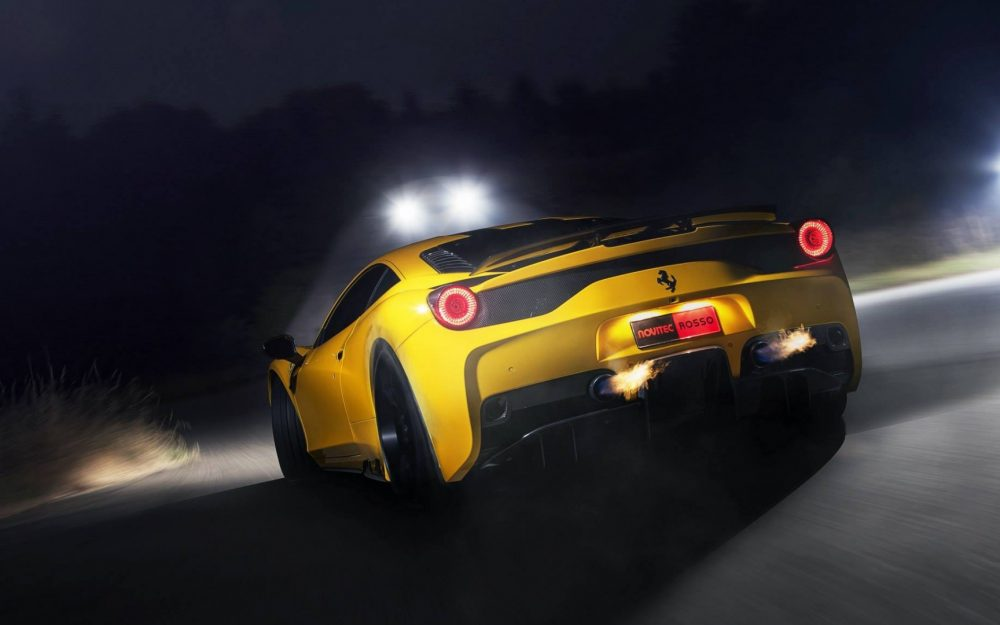 Ferrari 458 SPECIALE, yellow, Ferrari, yellow, car photos, the Ferrari wallpaper