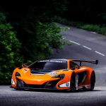 McLaren, 650S, GT3, car, forest, highway, scenic wallpaper