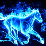 Year of the Horse, flame, personalized desktop wallpaper