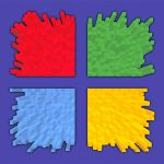 operating system, windows, color, logo
