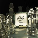 Intel in glass chess wallpaper