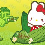 RABBYCC, lovely, Dragon Boat Festival, a traditional festival, dumplings, wallpaper