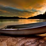 Beautiful boat HD Landscape wallpaper