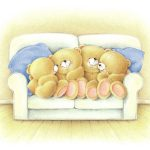 children, teddy bear, Forever friends deckchair bear, mood