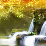 Wallpaper, photo, nature, water, light, rays