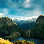 new zealand, rocks, fiordland national park, new zealand