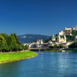 Salzburg attractions Landscape wallpaper