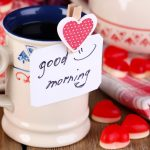 Cups, coffee, love, Valentine's Day pictures, wallpaper good mood