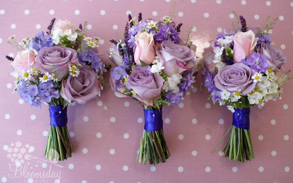 Gillyflower, bouquets, phlox, daisies, roses, flowers