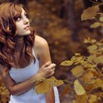 Foreign beauty photography wallpaper