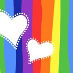 Colorful background love wallpaper