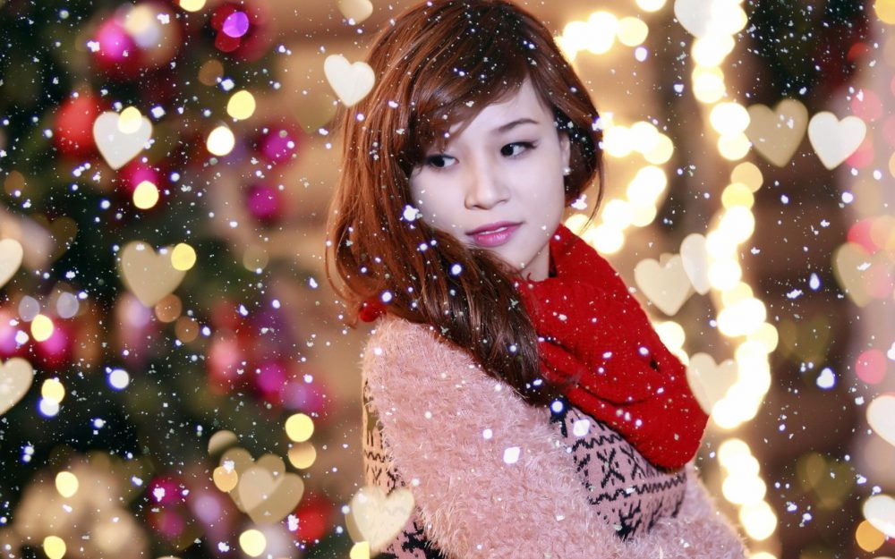 Christmas beauty big picture background wallpaper
